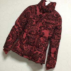 【送料無料】Desigual デシグアル コート ジャンパー アウター ジャケット 赤 ダウン 中綿