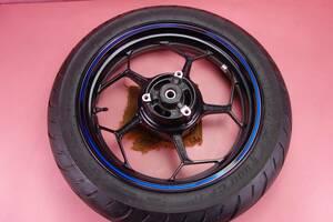 TT900 バリ山 走行107km / Ninja250 ABS Special Edition  リア ホイール 後 ホイル タイヤ   ニンジャ250 EX250L  160tc6