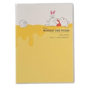 【ほぼ新品/展示品】ディズニーくまのプーさん月間2018年B6手帳シンプルPoohザッカブックプー黄色スケジュール帳イエローかわいいDisney