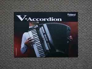【カタログのみ】Roland V-Accordion 2013.12 検 アコーディオン FR-8X FR-3X FR-1X