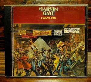 ●CD● Marvin Gaye / I Want You / MOTOWN 名盤コレクション / 国内盤 / 帯・解説・歌詞・対訳付 / 1976年作品 / 送料