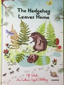洋書アメリカ製ハードカバー英語版絵本The Hedgehog Leaves Home♪