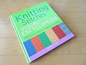 洋書◆ニット ステッチ 手芸パターン集 本 セーター 編み物