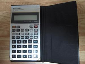 ジャンク SHARP 関数電卓 EL-506P 昭和レトロ