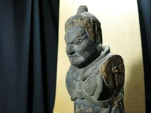 A 天部像 鎌倉時代 旧美術館収蔵品 仏像 仏教 寺院 木彫 信仰