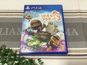 PS4 リトルビッグプラネット3 ソフト☆