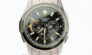 CASIO(カシオ) OCEANUS 紳士腕時計 OCW-S1250 マンタ 2009年 優勝記念モデル 限定500 TOUGH-SOLAR WEVE-SEPTER 838291AB49184CB