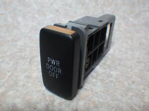 タント カスタム L375S パワースライドドアオフスイッチ