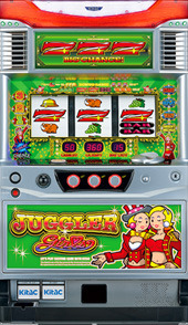 Real machine North Electronics Juggler Girls K Coin Without