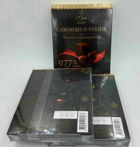国内未発売 ロシア最高級純ダークチョコレート カカオ97.7% 帝室御用達