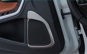 Volvo s60 speaker trim chrome cover 4pce free shipping