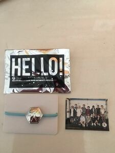 EXO hair elastic blue & rare all member sticker official goods unused * prompt decision only * Chris *ru handle *tao