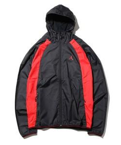 ラスト1点!新品 NIKE AIR JORDAN WINGS WINDBREAKER ナイキ エア ジョーダン ウイングス ウィンドブレーカー XL 赤 黒 ブルズ カラー