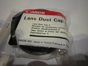 Canon Lens Dust Cap E(未使用長期保存品)③