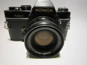 KONICA Acom-1 フィルム一眼カメラ(中古ジャンク扱い)②