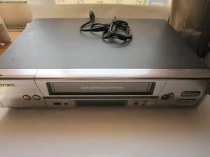 HITACHI VHS ビデオセッキ 7B-FV200(ジャンク扱い中古)