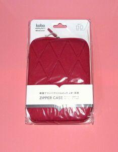 Rakuten KOBO ZIPPER CASE Red 838612BL186-185