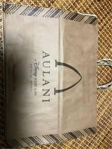 aulaniaulani*Disney Disney resort * paper bag * cheap. line . person attaching