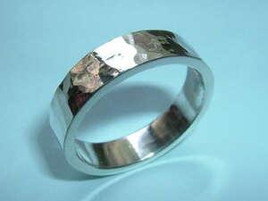 (DH) New! ★ SV925 ★ Handmade / launch ring ★ Width 5.6 mm 25