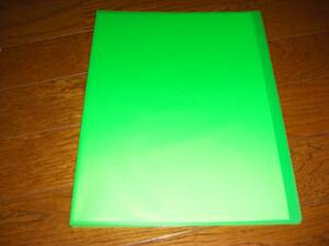 数量9 A4クリアブック クリアファイル 10ポケット 20ページ分