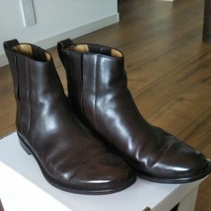 本物保証 ルイ・ヴィトン ブーツ 箱付き メンズ シューズ 靴 革靴 茶/25~26㎝(6) レザー