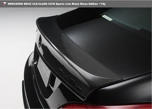 【 WALD BlackBison Edtion 】 Mercedes-Benz W218 C218 CLSクラス カーボン 製 トランクスポイラー ブラックバイソン 2011y~2014y CLS 550