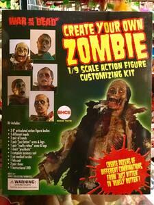 WAR OF THE DEAD 1/9スケール アクションフィギュア ゾンビ キット ウォー オブ ザ デッド zombie ホラー horror 映画 ガレージキット