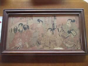 版画 歌舞伎役者絵 骨董