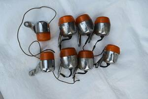 i... san selling out motorcycle supplies turn signal 8 piece