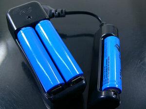18650 リチウムイオン 充電池 2800mahx1本 同梱OK