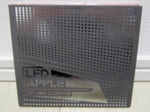 K-POP♪ Led Apple レッド・アップル 1stミニアルバム「君が何だ」韓国盤CD/希少品!