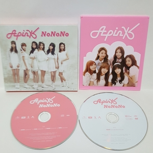 【超貴重!!】Apink★NoNoNo★初回限定盤A CD+DVD Specialミラー付き★美品