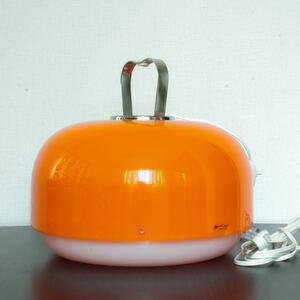 希少 美品 1960年代 Harvey Guzzini Luigi Massoni 照明 イームズ スペースエイジ パントン ミッドセンチュリー カルテル ランプ 1