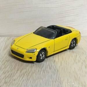 トミカ 64 ホンダ S2000 イエロー 黄 絶版 廃盤 Honda 乗用車 オープンカー スポーツカー トミー TOMY TOMICA 希少 レア 自動車 HONDA 模型