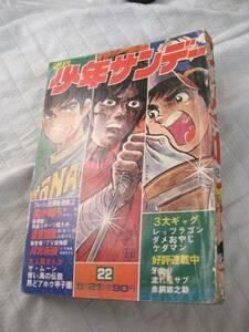 ★ キャンディーズ 掲載 週刊少年サンデー ★'72年 22号