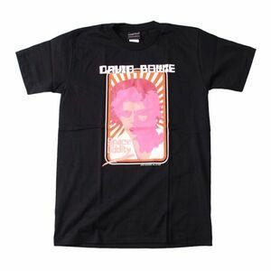 w1●新品 黒 Mサイズ●デビッドボウイ/デヴィッドボウイ DAVID BOWIE 半袖Tシャツ//バンドTシャツ ロックTシャツ パンク メタル