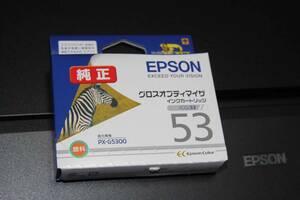 ★ EPSON エプソン ★ PX-G5300 グロスオプティマイザ ICGL53 【 推奨期限 2019.06 】