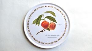 メラミン 鍋敷き ピーチ:The Royal Horticultural Society Collection