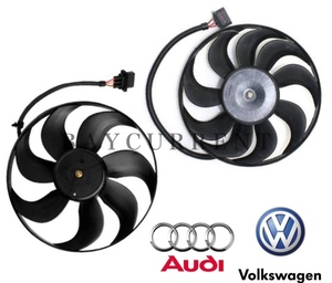 【正規純正OEM】 VW ラジエター 電動ファン SET ニュービートル ポロ ボーラ ゴルフ4 ルポ 6X0959455F 1C0959455C アディショナルファン