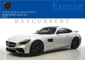 【WALD BlackBison Edtion】 Mercedes-Benz AMG GT 15y~ カーボン / FRP フル エアロ 4点キット バンパー スポイラー ベンツ バルド C190