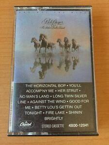 ボブ・シーガー Bob Seger & The Silver Bullet Band『Against the Wind』(邦題:奔馬)1980【激レア】米国盤カセットテープ