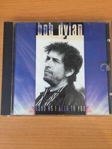 ボブ・ディラン 『グッド・アズ・アイ・ビーン・トゥ・ユー』(Good as I Been to You)米国盤CD