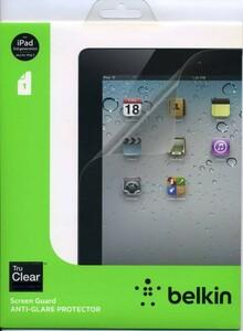 新品・即決★ belkin 液晶保護フィルム iPad3・iPad2用 アンチグレア ノングレア 反射防止 液晶保護フィルム ベルキン★f