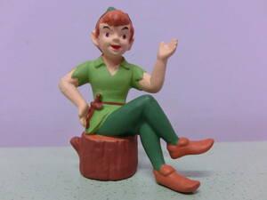ディズニー ピーターパン◆PVC フィギュア 人形 6㎝ ビンテージ◆Disney Peter Pan Vintage Figure Doll レトロ