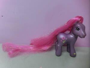 マイリトルポニー G3◆フィギュア 人形 ロングヘア 髪の長い ポニー ♯13 ビンテージ◆My Little Pony Figure Doll HASBRO ファンシー
