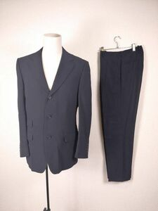 (G) GUCCI グッチ メンズ ブラック スーツ セットアップ 上下 50表記