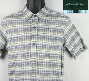 《郵送無料》■Ijinko★エディーバウアー Eddie Bauer ★ S サイズ半袖シャツ