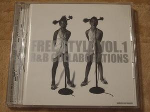 CD FREE STYLE VOL.1 R&B COLLABORATIONS 中田英寿セレクト 廃盤 NELLY R.KELLY カニエウェスト BEYONCE JAY-Z FALLEN REMIX MYA NATEDOGG