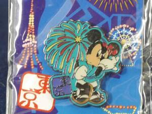 ディズニー ピンズ(ご当地ピンバッジ)ミッキーマウス 東京限定(祭り装束と花火) 未開封品