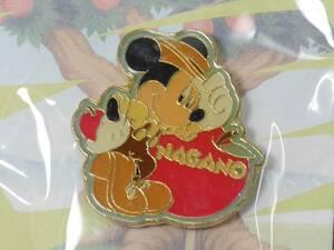 ディズニー ピンズ(ご当地ピンバッジ)ミッキーマウス 信州限定 未開封品